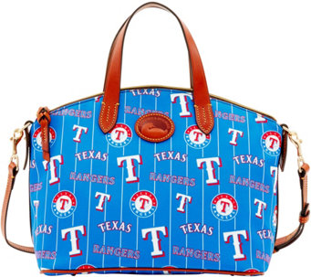 Dooney & Bourke MLB Nylon Rangers Small Satchel - A281748