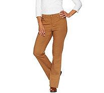 Liz Claiborne New York Regular Hepburn Colored Bootcut Jeans ...