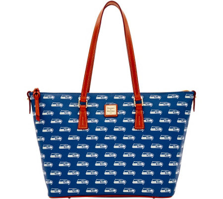 Dooney & Bourke NFL Seahawks Shopper