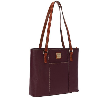"""As Is"" Dooney & Bourke Pebble Leather Small Lexington Shopper"