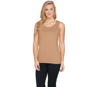Belle by Kim Gravel Fully Fashioned Sweater Tank - A288748