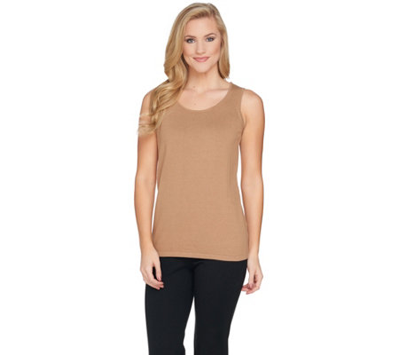 Belle by Kim Gravel Fully Fashioned Sweater Tank