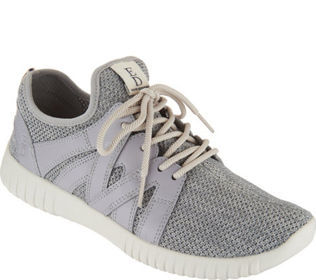 ED Ellen DeGeneres Knit & Leather Sneakers - Havala