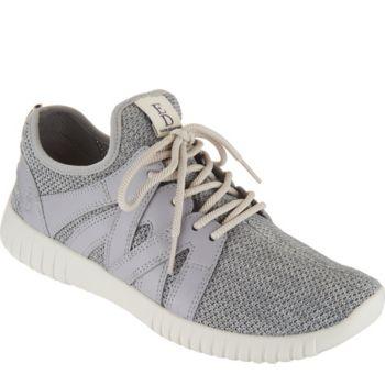 ED Ellen DeGeneres Knit & Leather Sneakers - Havala