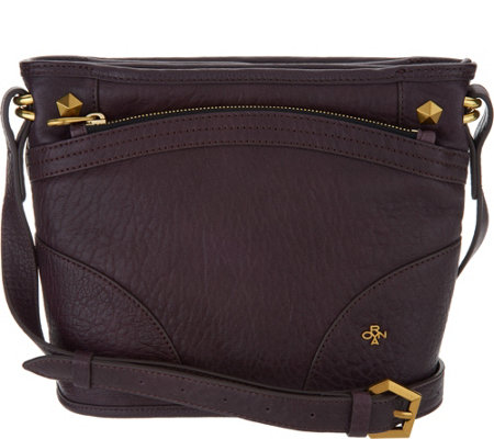 orYANY Lamb Leather Crossbody Handbag - Mia