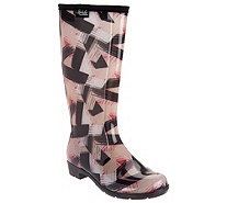Stride by Sloggers Waterproof Tall Fashion Rain Boots - A300648