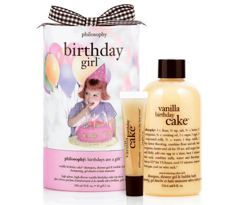 Philosophy Birthday Cake Gift Set