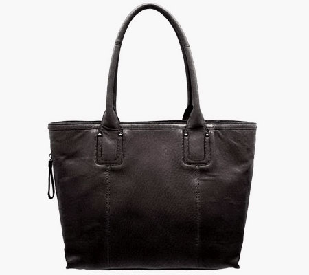 Perlina Cynthia Leather Tote Handbag