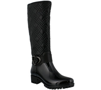 Spring Step Water Resistant Quilted Rain Boot -Eris - A355748