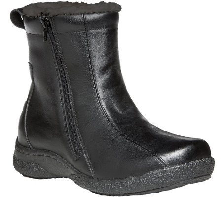 Propet Leather Ankle Boots - Hope