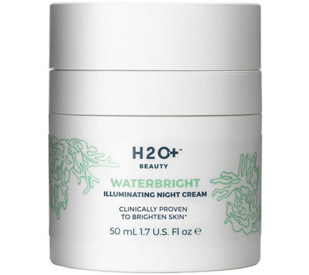H2O+ Beauty Waterbright Illuminating Night Cream, 1.7 oz