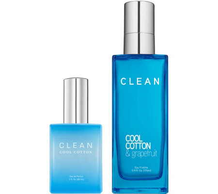 CLEAN Cool Cotton EDP & Eau Fraiche Duo
