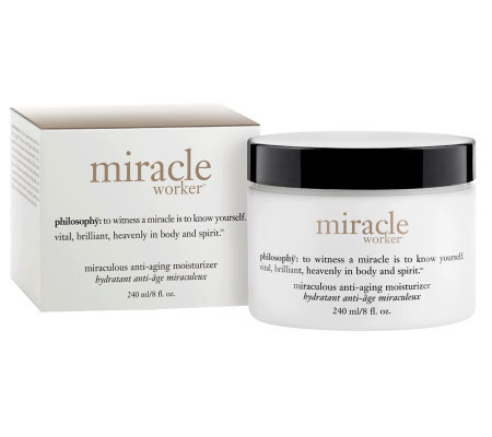 philosophy super-size miracle worker moisturizer, 8 oz.