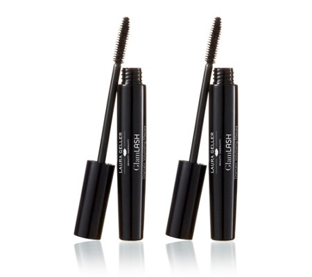 Laura Geller GlamLASH Volumizing Mascara Duo Auto-Delivery