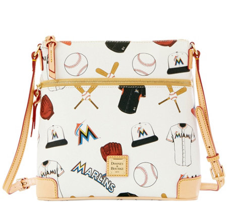 Dooney & Bourke MLB Marlins Crossbody