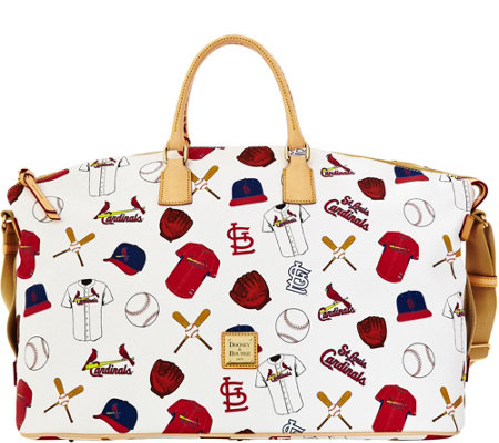 Dooney & Bourke MLB Cardinals Duffel Bag