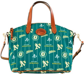 Dooney & Bourke MLB Nylon Athletics Small Satchel - A281749