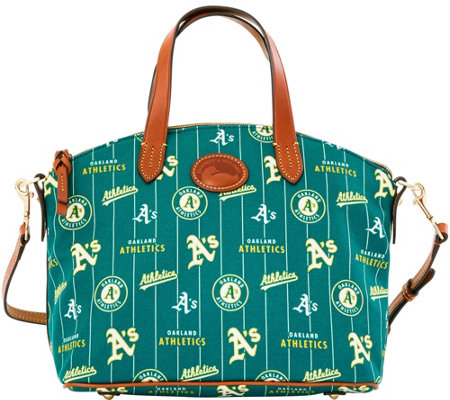 Dooney & Bourke MLB Nylon Athletics Small Satchel