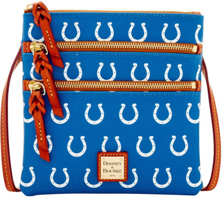 Dooney & Bourke NFL Colts Triple Zip Crossbody
