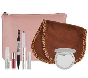 QVC Beauty Glam On-the-Go 6-piece Kit w/ Bag - A285849