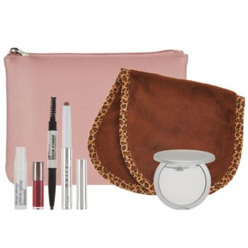 QVC Beauty Glam On-the-Go 6-piece Kit w/ Bag