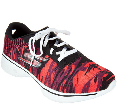 Skechers GOwalk 4 Waterprint Lace-up Sneaker - Motion
