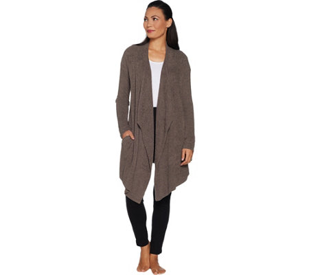 Barefoot Dreams Cozychic Lite Island Wrap with Pockets