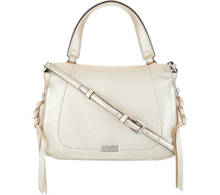Aimee Kestenberg Leather Flap Crossbody- Lizette