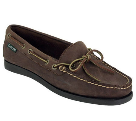 Eastland Casual Leather Slip-on Loafers -Yarmouth