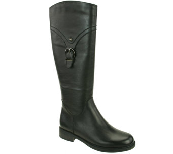 David Tate Leather Tall Boots - Texas - A334749