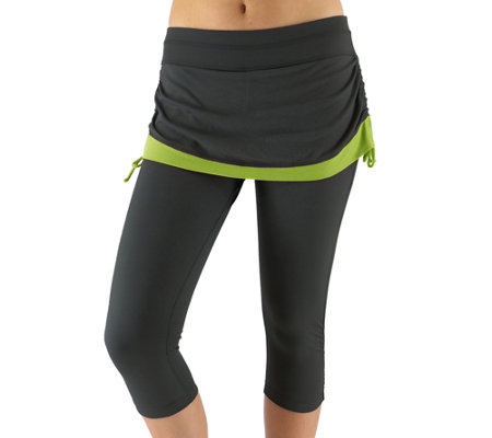 Ryka All-In-One Skirted Leggings