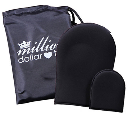 Million Dollar Tan Blend Friend Mitt Set