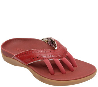 Wellrox Leather Five-Toe Sandals - Becca - A340449