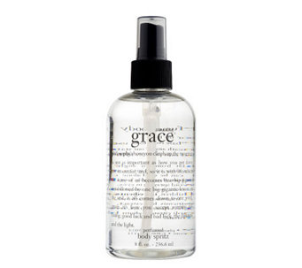 philosophy amazing grace perfumed body spritz 8 oz. - A84649