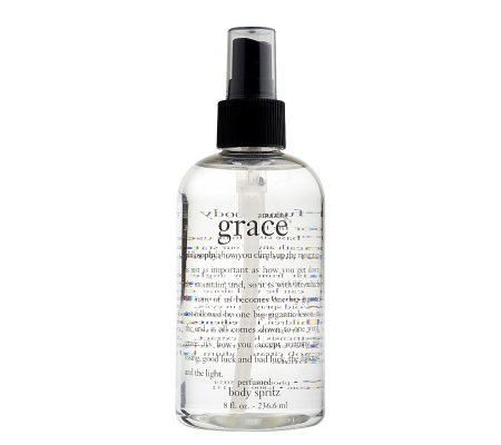 philosophy amazing grace perfumed body spritz 8 oz.