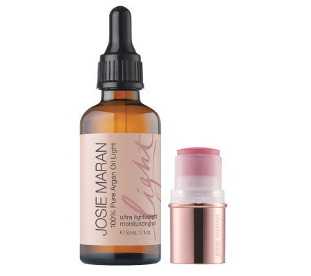 Josie Maran 100% Pure Argan Oil Light with Bonus Color Stick