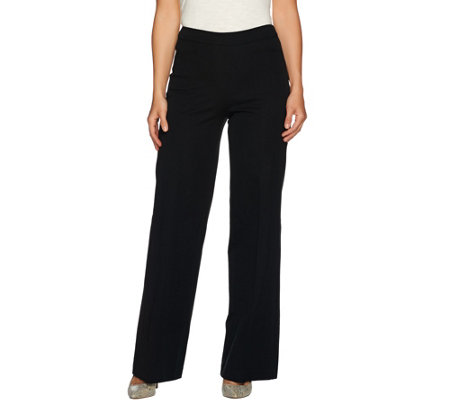 Isaac Mizrahi Live! Tall 24/7 Stretch Wide Leg Pants