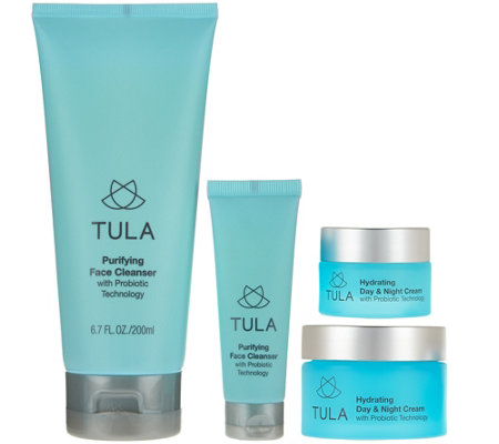 TULA Probiotic Skincare Hydrating Home and Away Set