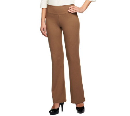 """As Is"" Women with Control Tall Seamed Waist Boot Cut Pants"