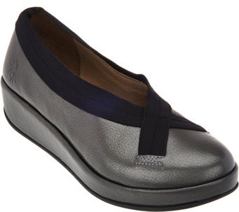 FLY London Leather Slip-on Shoes - Bobi - A283450