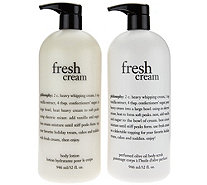 philosophy super-size olive oil scrub & body lotion Auto-Delivery - A288850
