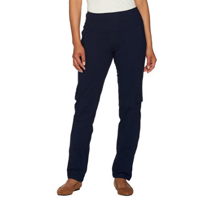 """As Is"" Women with Control Regular Tummy Control Cargo Pants"