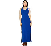 Isaac Mizrahi Live! Regular Sleeveless Maxi Dress w/ Side Slits - A290850