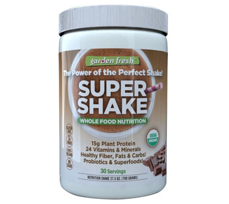 Garden Fresh Plant Protein Super Shake 30-day Supply