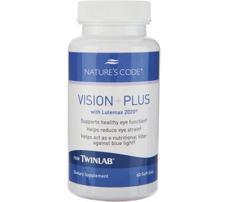 Nature's Code Vision Plus Advanced Eye Support 60-day Supply