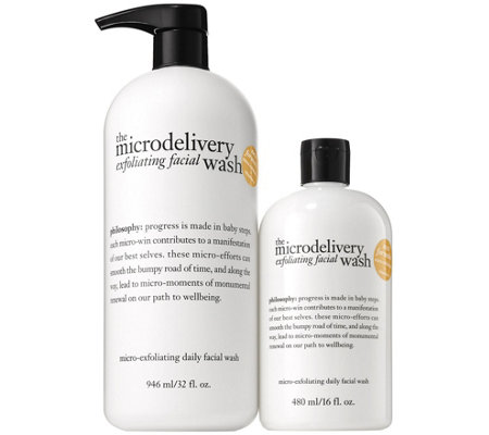philosophy microdelivery exfoliating duo Auto-Delivery