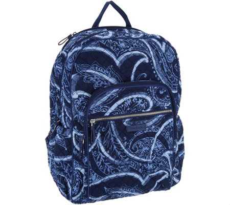Vera Bradley Iconic Signature Campus Tech Backpack