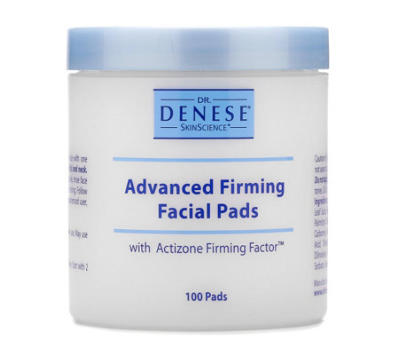 Dr. Denese Super-size Firming Facial Pads 100 Count A-D