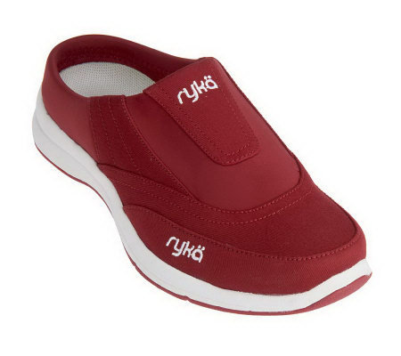 Ryka Canvas Twill & Neoprene Slip-on Clogs