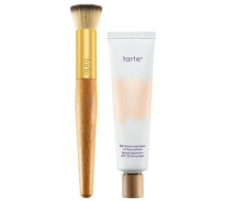 tarte Clean Slate SPF 30 Tinted BB Primer with Brush